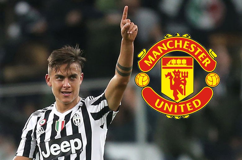 Manchester United insiste pour Dybala