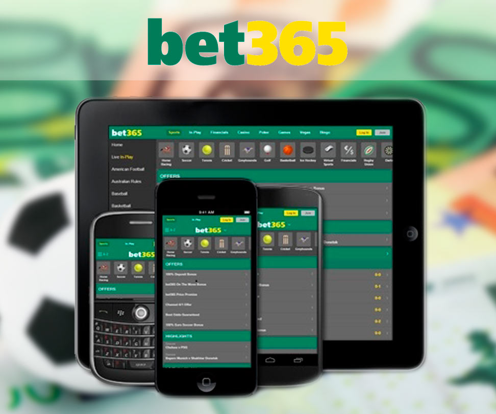 Aperçu de la version mobile et de l'application du Bookmaker Bet365