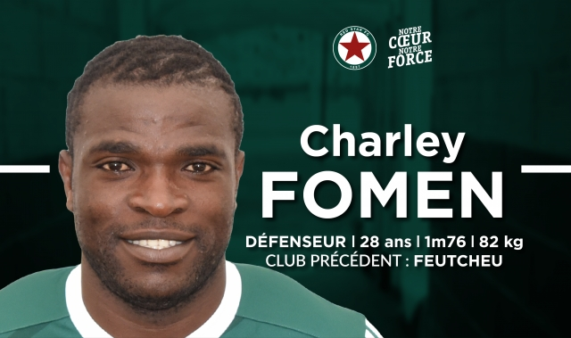 Charly Fomen se relance au Red Star