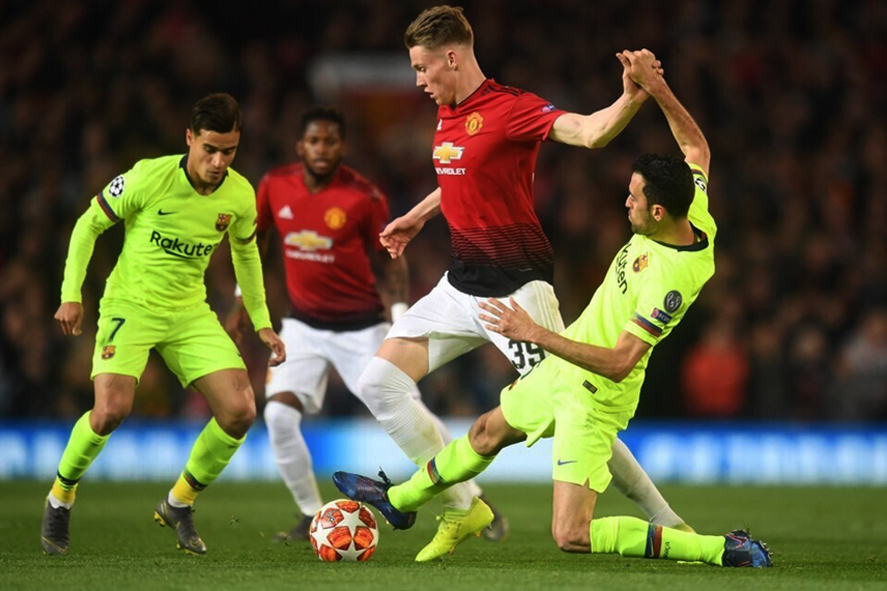 «Barcelona» - «Manchester United»: cotes des bookmakers pour le match du 16 avril 2019