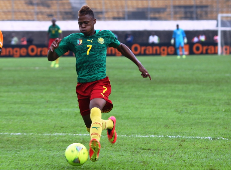 Njie, incertain contre le Nigeria